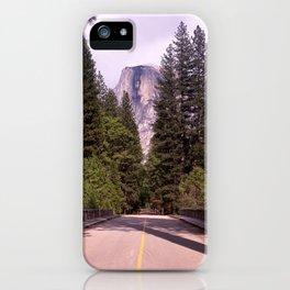 Ahwahnee Bridge, Yosemite Village iPhone Case