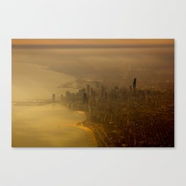 Chicago from Above II Canvas Print