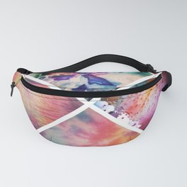 Patchwork art Fanny Pack