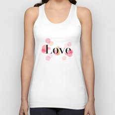 Love Unisex Tank Top