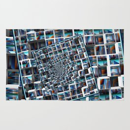 Abstract Infinity Rug