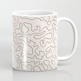 Puzzle Drawing #3 Chocolate Coffee Mug