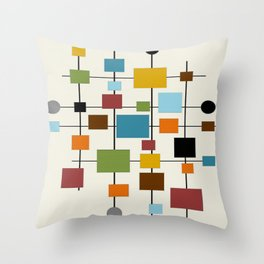 Mid Century Throw Pillows | Society6