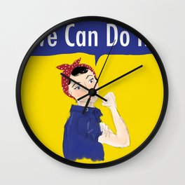 Rosie Thinks We Can Wall Clock