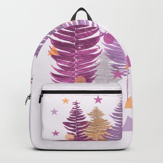 Christmas Trees #buyart #Christmas #Society6 Backpack