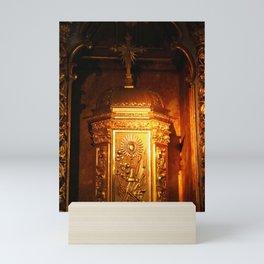 Catholic tabernacle Mini Art Print