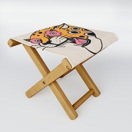 Cheetah Folding Stool