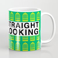 "rupaul Mugs featuring The Birdcage - Agador ""Straight Looking"" by Binge Designs Homeware"