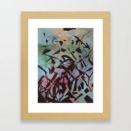 SHATTERED WORLD Framed Art Print