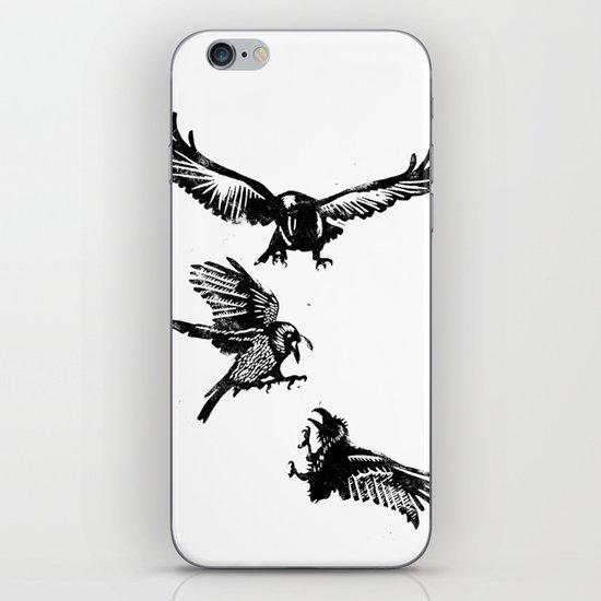 Crow Parliament iPhone Skin