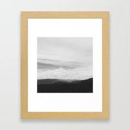 Sky Ocean Framed Art Print