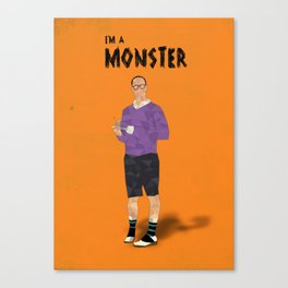 Arrested Development - Buster Bluth I'm A Monster Canvas Print