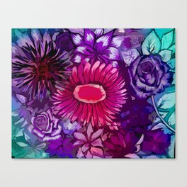 Floral Delights Canvas Print