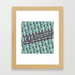 Inimitable! Framed Art Print