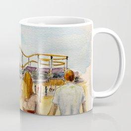 Santa Monica Pier Ferriswheel Coffee Mug
