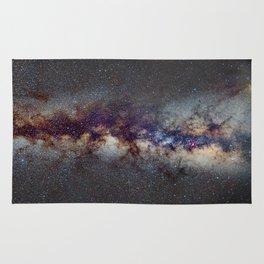 The Milky Way: from Scorpio and Antares to Perseus Rug