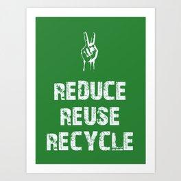 Reduce... Art Print