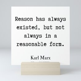5   | Karl Marx Quotes | 190817 Mini Art Print