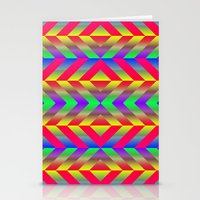psychedelic Stationery Cards featuring Psychedelic by Texture