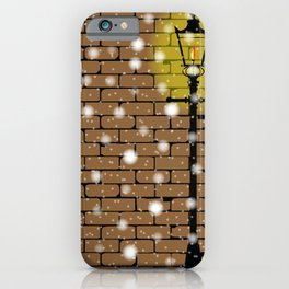 Lamplight Christmas iPhone Case