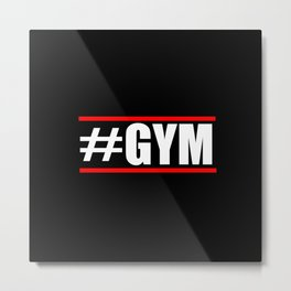 #Gym funny gym quotes and fitness stuff Metal Print
