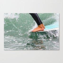 Hang 10 Canvas Print