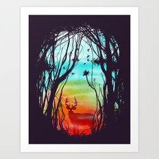 Lost In My Dreams Art Print