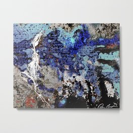 Abstract: Faces, Figures, Creatures & Stuff Metal Print