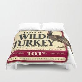 Hunt Wild Turkey Duvet Cover