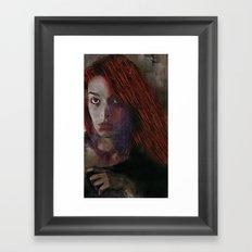 Drive Through Ghosts Framed Art Print
