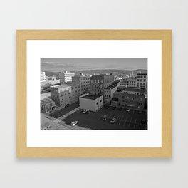 Model City Framed Art Print