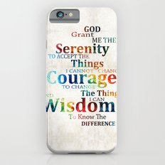 Colorful Serenity Prayer by Sharon Cummings Slim Case iPhone 6