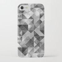 matrix iPhone & iPod Cases featuring moon matrix by Kingu Omega