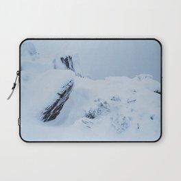 Snow on the Plateau Laptop Sleeve