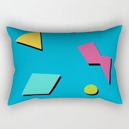 Fresh Prince 90s Pattern Rectangular Pillow