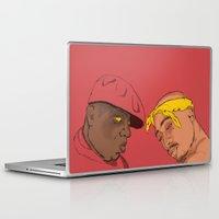 tupac Laptop & iPad Skins featuring Resting Kings by Aybee Omari