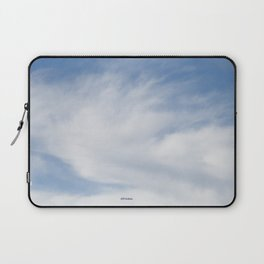 Just Clouds #3 Laptop Sleeve