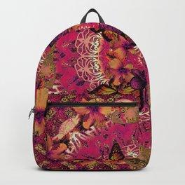 Victoria Mandala Collage Backpack