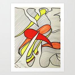 OTOÑO 9 Art Print