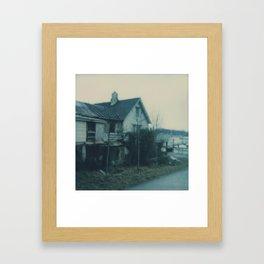 A home Framed Art Print