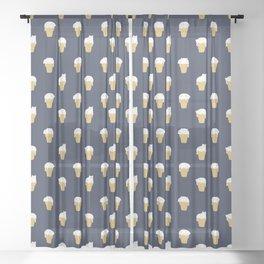 Meowlting Sheer Curtain