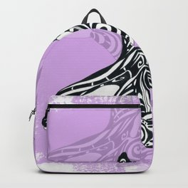 Orca Killer Whale Spirit Pink Backpack