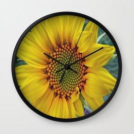 Little Sunflower Wall Clock