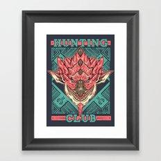 Hunting Club: Pink Rathian Framed Art Print