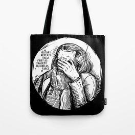 Facepalm Marx Tote Bag