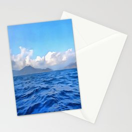 Aegean Blue Stationery Cards