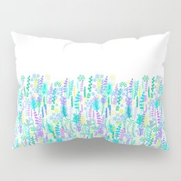 Morning garden, aromatic herbs Pillow Sham