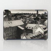 edinburgh iPad Cases featuring Edinburgh by Carlos Sanchez