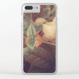 SECRET FLOWERS OF PARADOX Clear iPhone Case