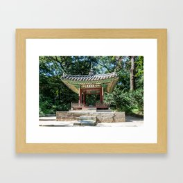 Taegeukjeong of the Secret Garden_Changdeokgung Palace Framed Art Print